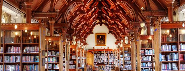 LISA Sprachreisen Schueler Bristol Clifton Sprachschule College Bibliothek